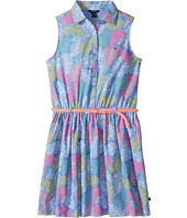 Tommy Hilfiger Kids - Printed Palm Shirtdress (Big Kids)