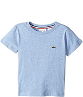 Lacoste Kids - Short Sleeve Solid Crew T-Shirt (Toddler/Little Kids/Big Kids)