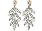 Oscar de la Renta - Hammered Leaves C Earrings