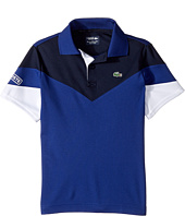 Lacoste Kids - Short Sleeve Color Block Polo (Little Kids/Big Kids)