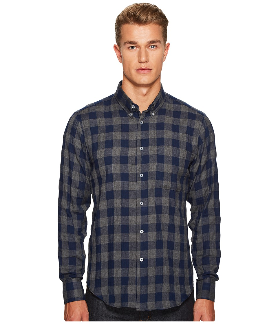 Naked & Famous - Herringbone Check Shirt