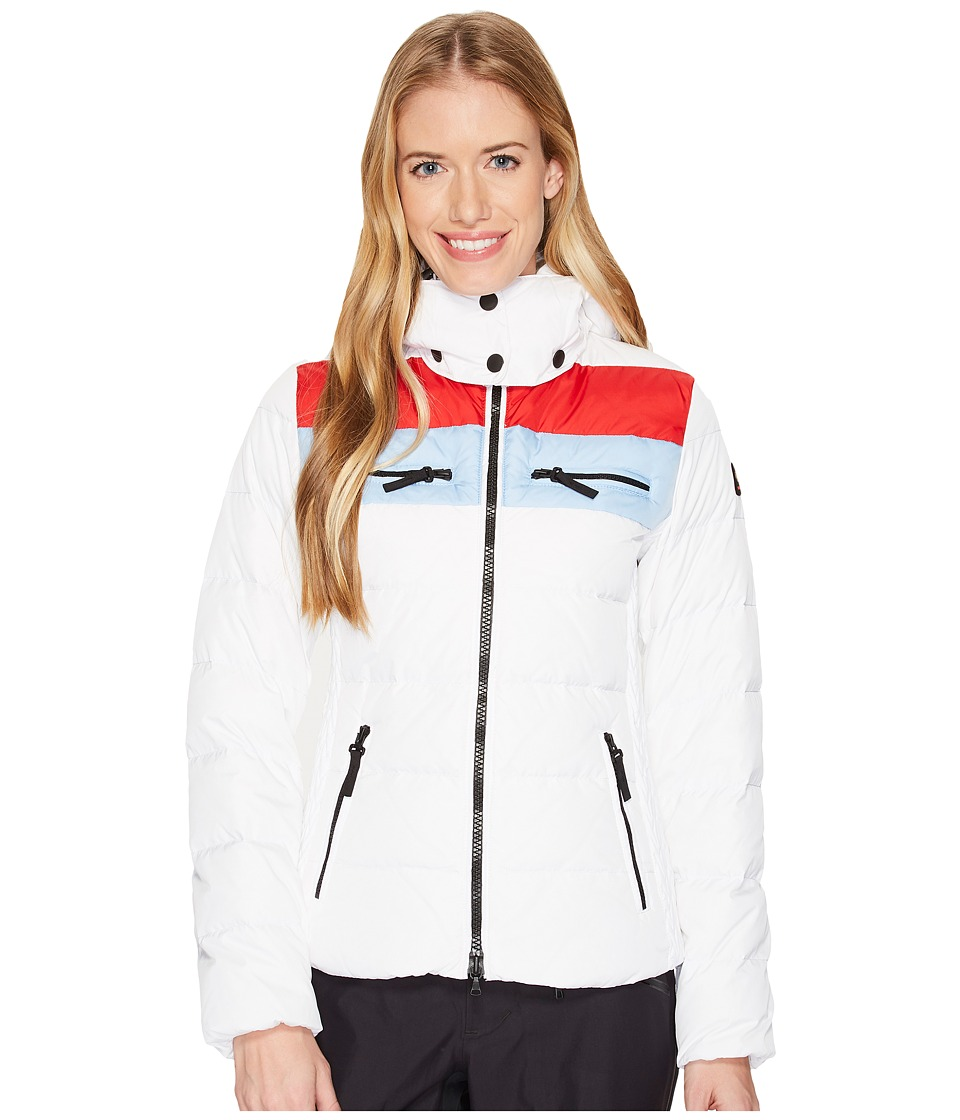 Bogner Fire + Ice Lela2-D (White/Red/Glacier) Women