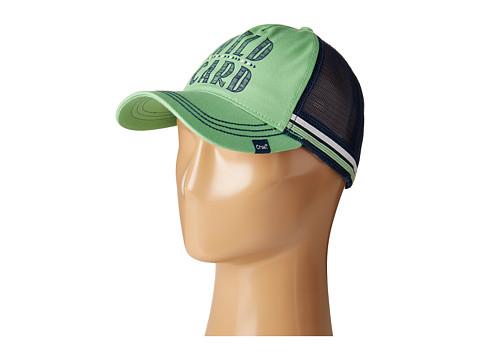 Cruel Unstructured Mesh Trucker Hat - Lime