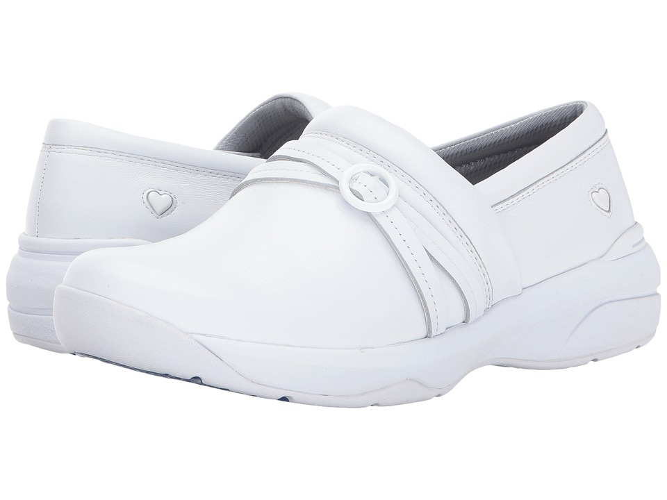 Nurse Mates Ceri (White) Slip-On Shoes