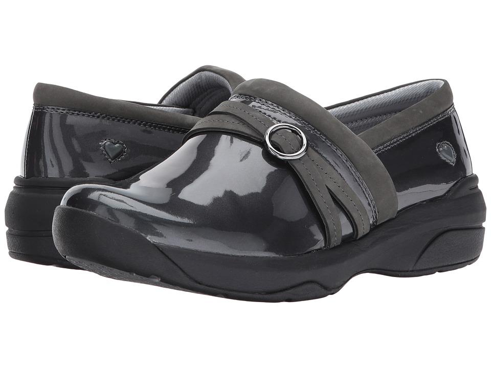 Nurse Mates Ceri (Grey Patent) Slip-On Shoes