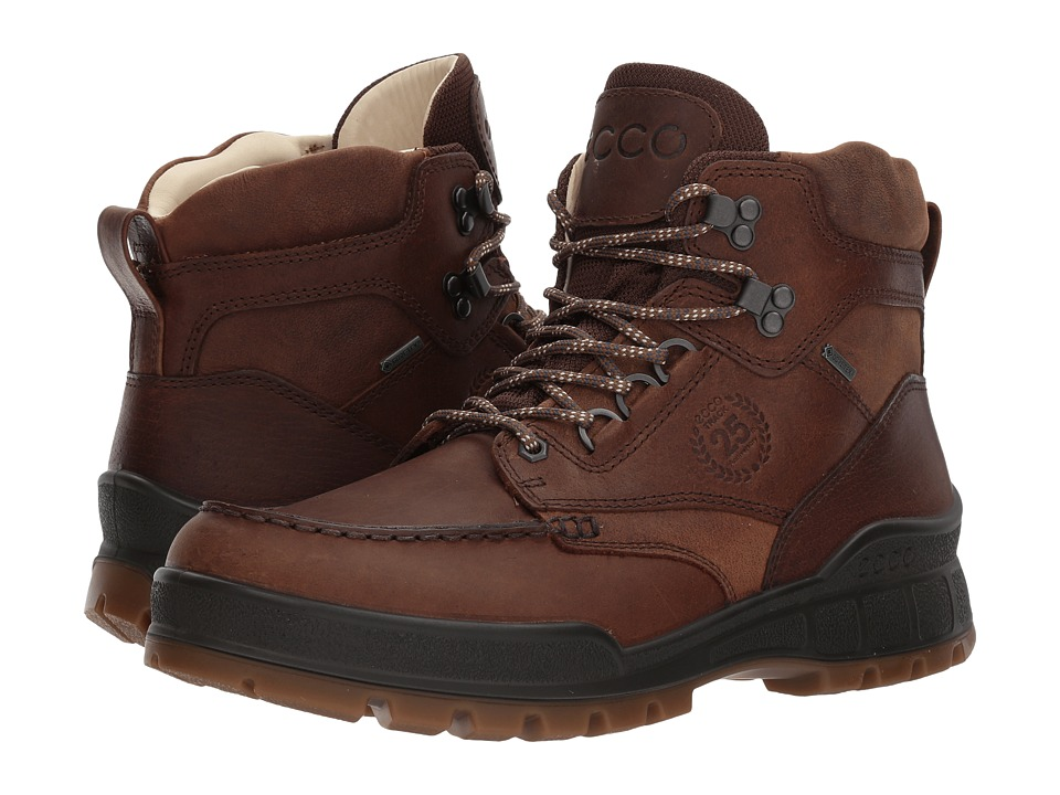 ECCO Track 25 Premium High (Cocoa Brown/Camel) Men