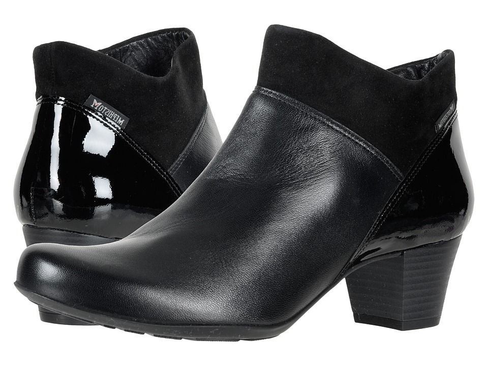 Mephisto Michaela (Black Texas/Carla/Velcalf Premium) Women