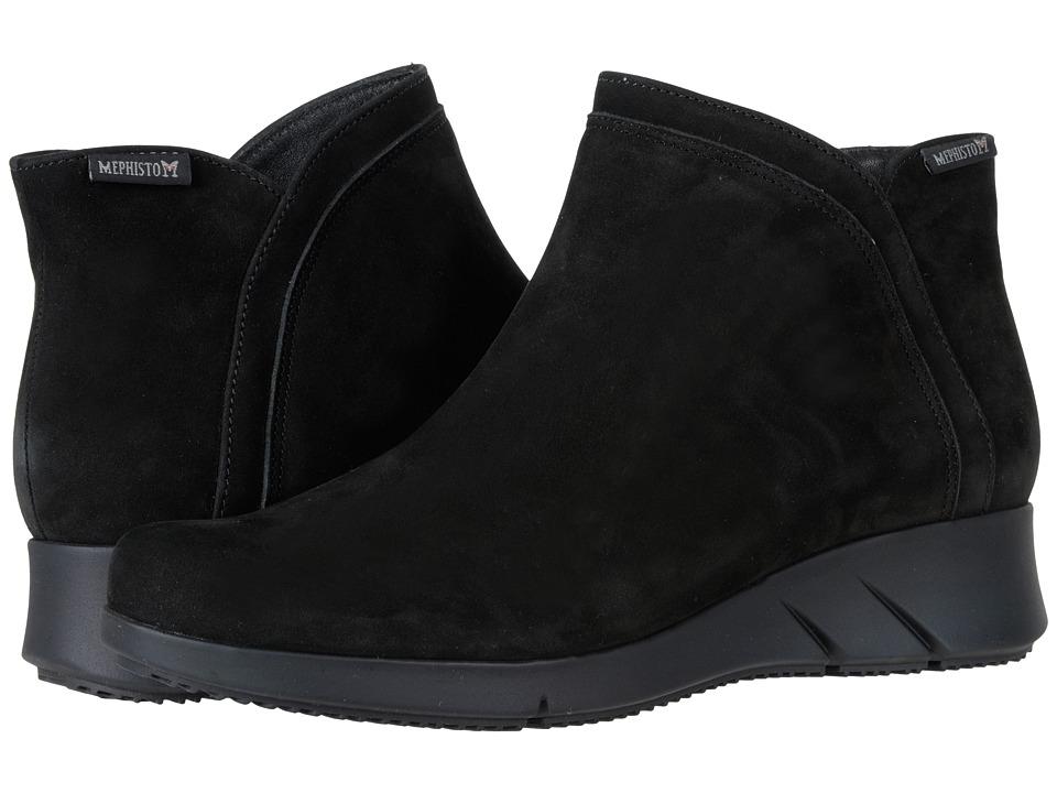 Mephisto - Margaux (Black Bucksoft) Womens Shoes