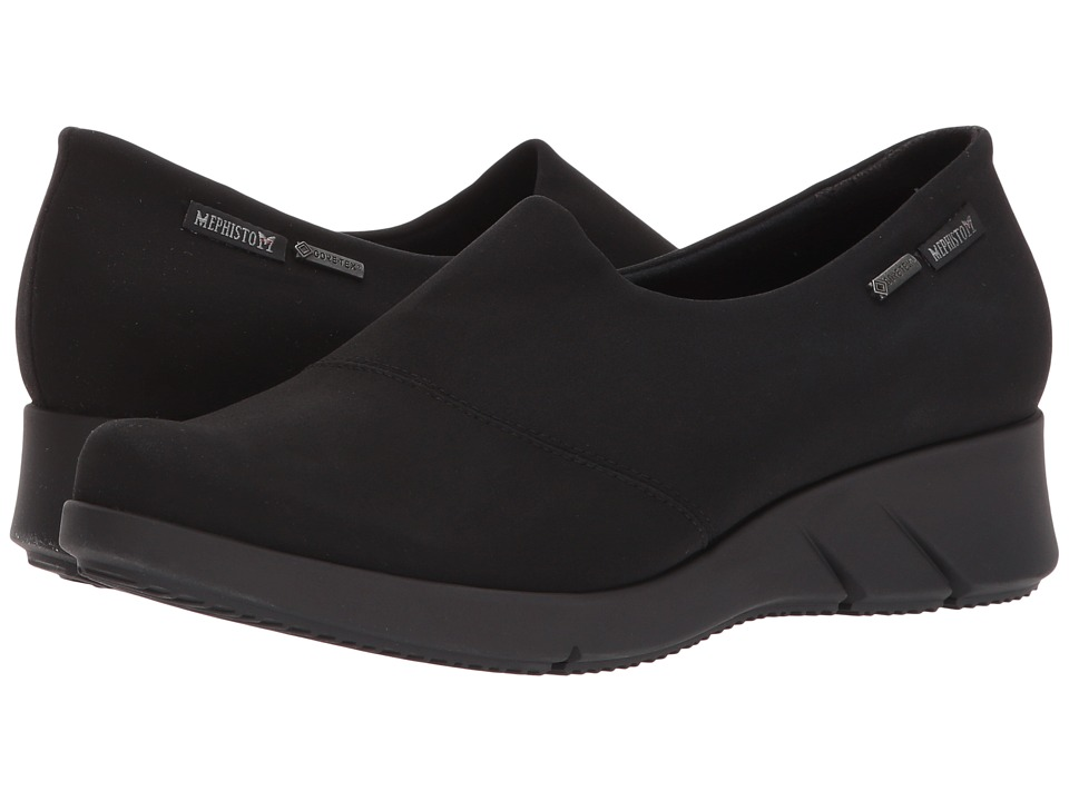 Mephisto - Molly GT (Black Stretch) Womens Shoes
