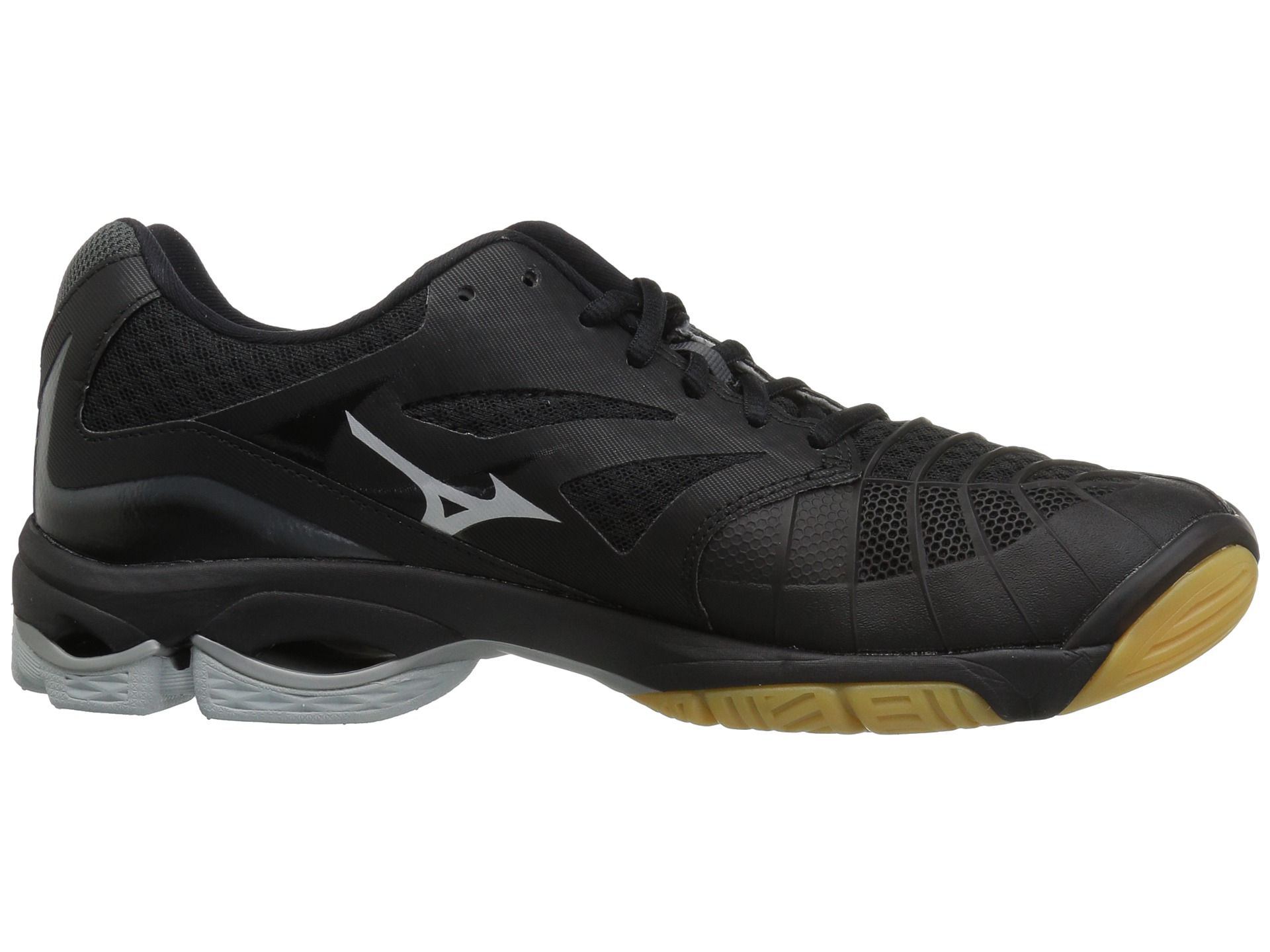 girls black volleyball shoes