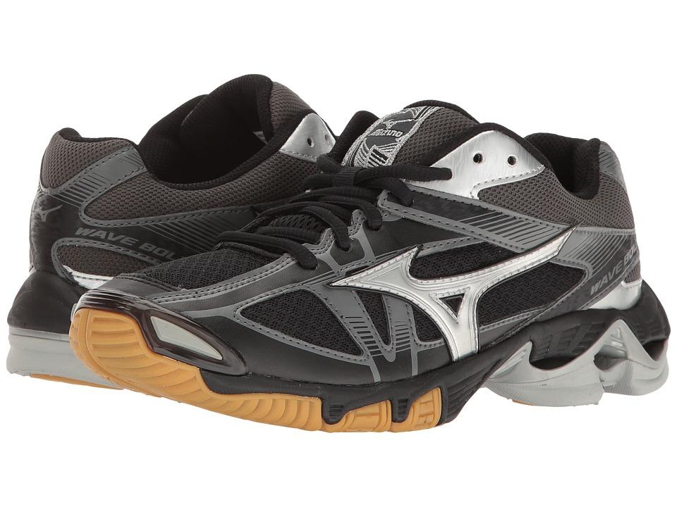 Mizuno Wave Bolt 6 (Black/Silver) Women's Running Shoes