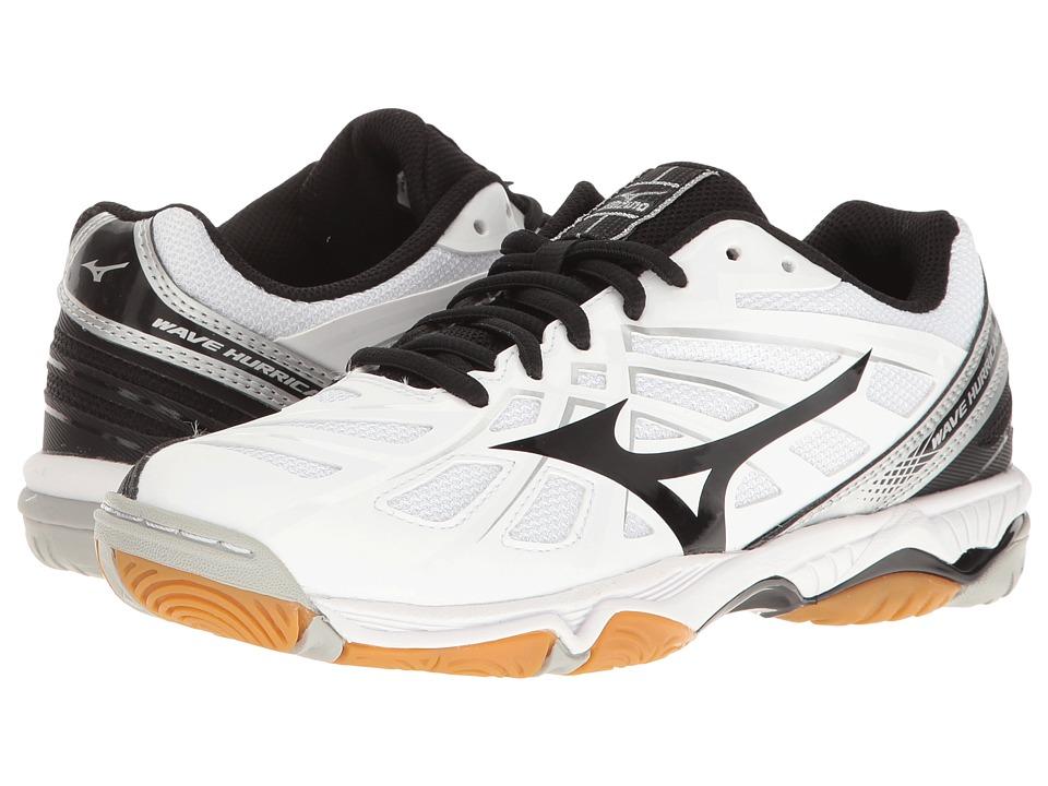Mizuno Wave Hurricane 3 (White/Black) Women's Running Shoes