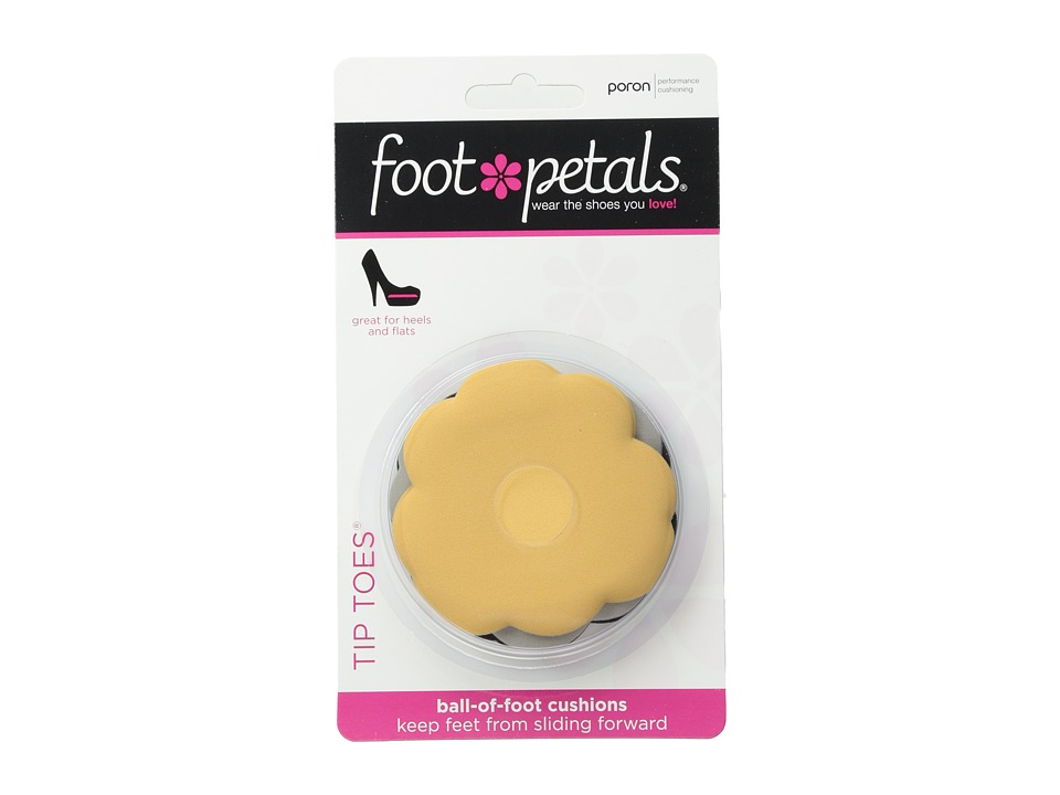 Foot Petals Tip Toes 3-Pack Assorted (Buttercup/Black/Gre...