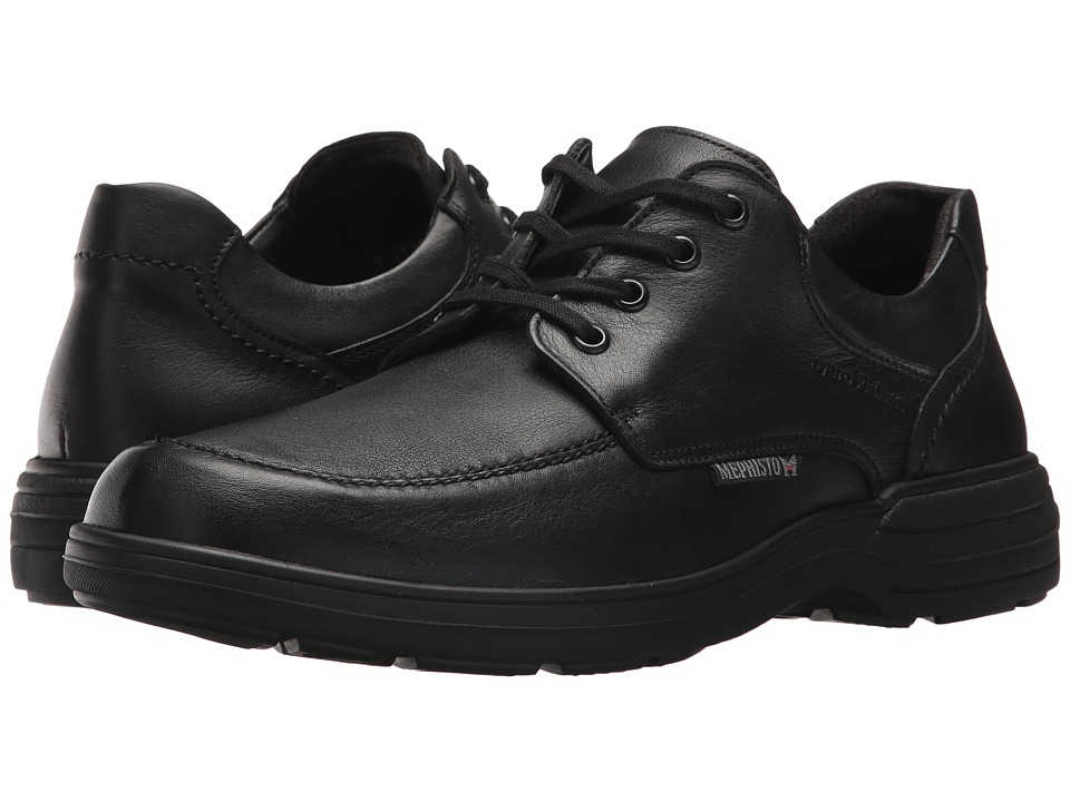 Mephisto - Douk (Black Riko) Mens Lace up casual Shoes