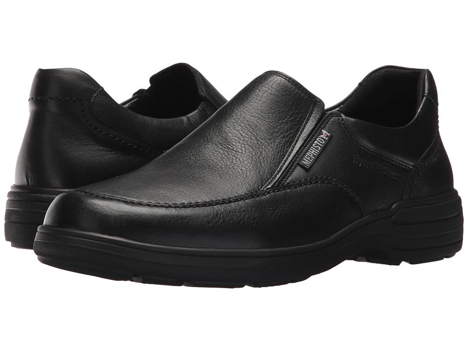 Mephisto - Davy (Black Riko) Mens Slip-on Dress Shoes