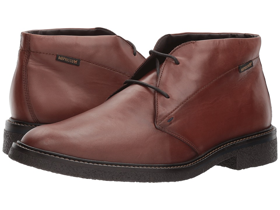 Mephisto - Gerald (Chestnut Randy) Mens Lace Up Wing Tip Shoes