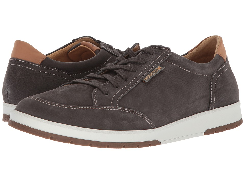 Mephisto - Ludo (Graphite Sportbuck/Hazelnut Mano) Mens Lace up casual Shoes