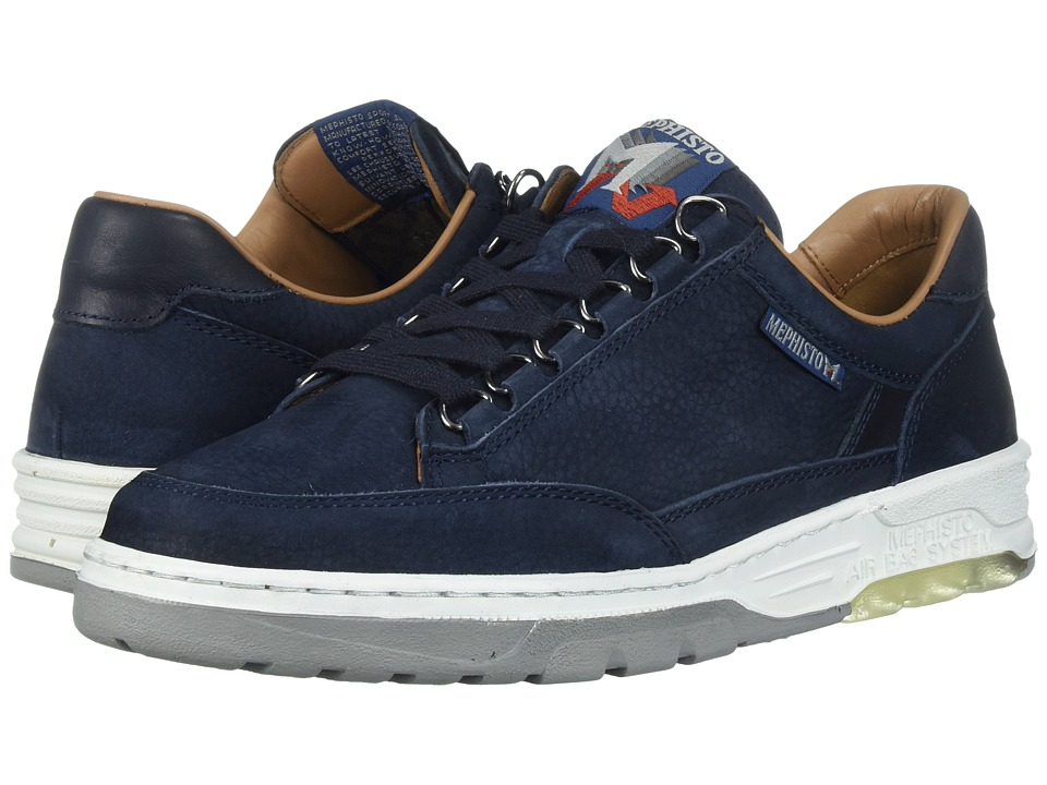 Mephisto - Mick (Navy Sportbuck/Kansas) Mens Lace up casual Shoes