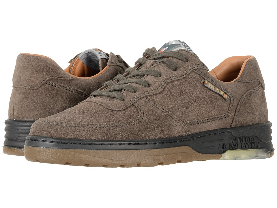Mephisto - Marek (Dark Grey Velours) Mens Lace up casual Shoes