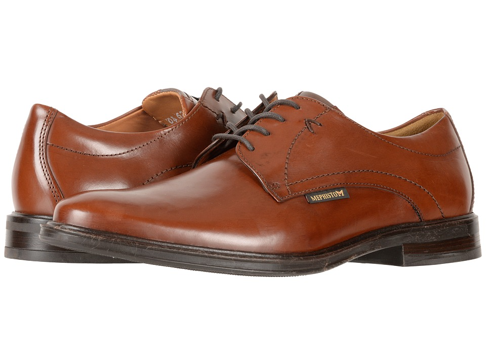 Mephisto - Nico (Chestnut Milano) Men's Lace Up Wing Tip Shoes