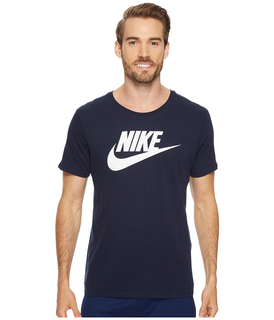 Nike Futura Icon S/S Tee (Obsidian/White) Men