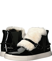 Manila Grace - Faux Fur Front High Top Sneakers