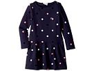 Lacoste Kids Long Sleeve Polka Dot Dress (Toddler/Little Kids/Big Kids)