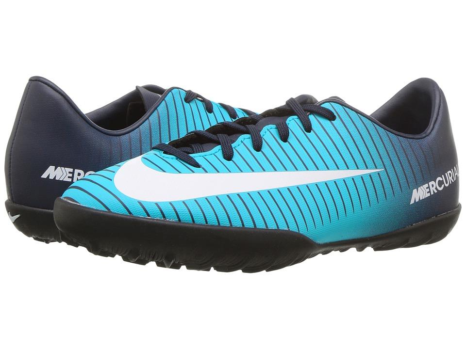 Nike Kids - JR Mercurial Vapor XI TF Soccer (Toddler/Litt...