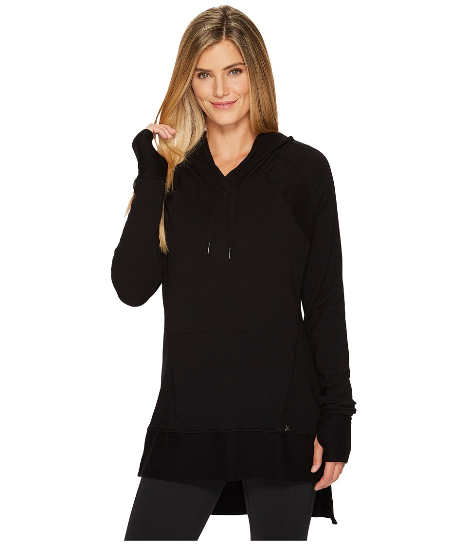 Eleven by Venus Williams - Epitome Hoodie Tunic (Black) Womens Sweatshirt