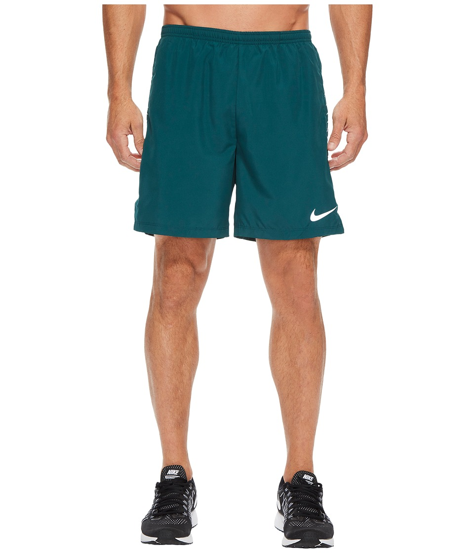 Nike Dry Challenger Running Short (Dark Atomic Teal) Men