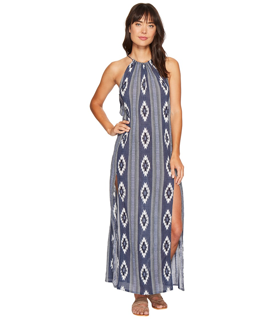 Rip Curl Peace Tribe Maxi Dress (Navy) Women