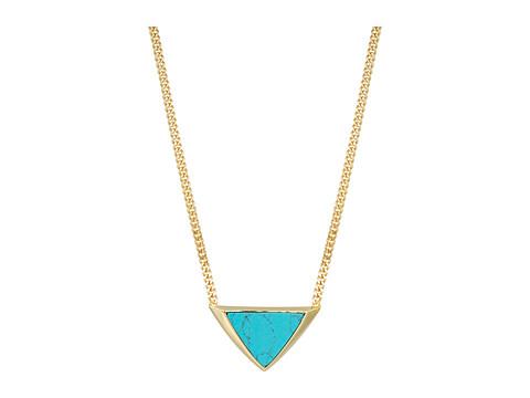 Vera Bradley Triangle Necklace - Gold Tone