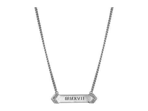 Vera Bradley Live Your Dreams Necklace - Silver Tone