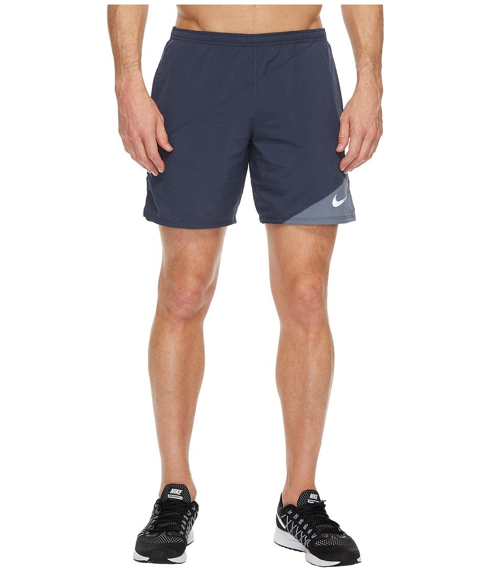 Nike Flex 7 Running Short (Thunder Blue/Armory Blue) Men