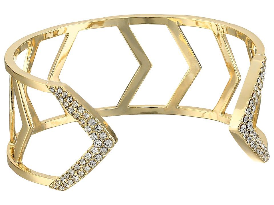 Vera Bradley - Triangle Cuff Bracelet (Gold Tone) Bracelet
