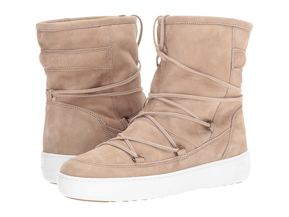 Tecnica Moon Boot WE Pulse Mid (Beige) Women