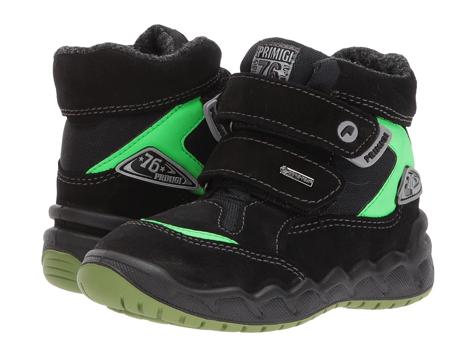 Primigi Kids PMAGT 8557 (Toddler) (Black) Boy's Shoes