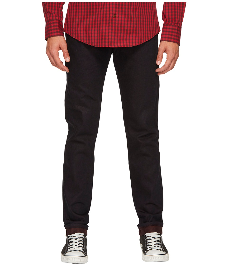 Naked & Famous - Super Skinny Guy Wine Dyed Weft Selvedge Jeans