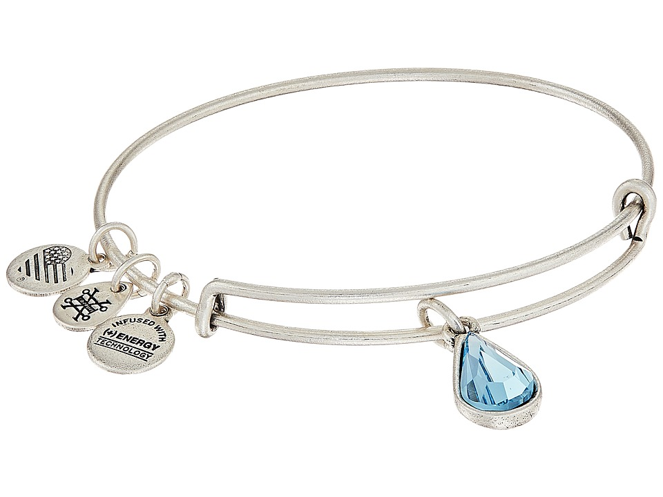 Alex and Ani - Swarovski Teardrop Color Code Bangle