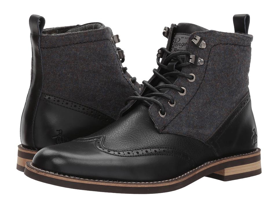 Penguin Nathan (Black) Men's Shoes
