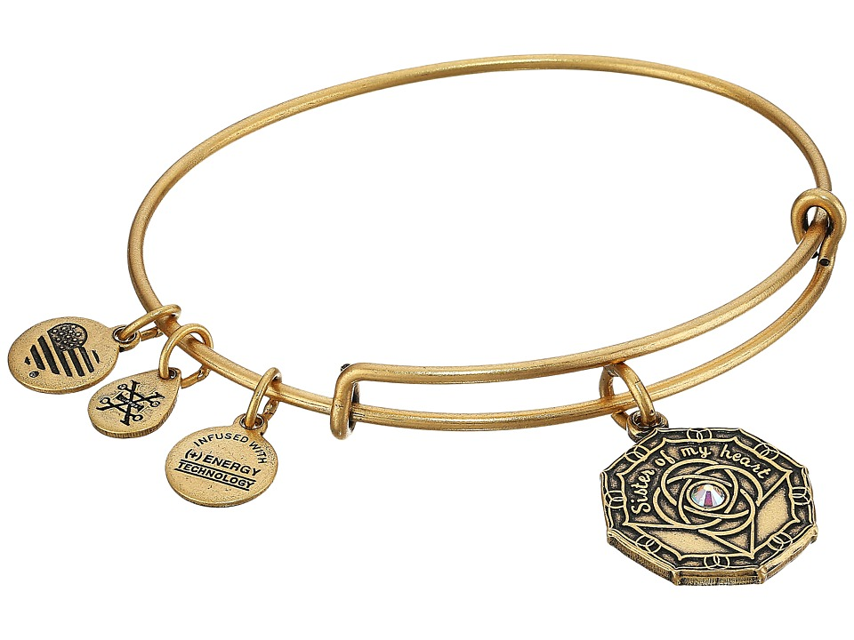 Alex and Ani - Bridesmaid Bangle (Rafaelian Gold) Bracelet