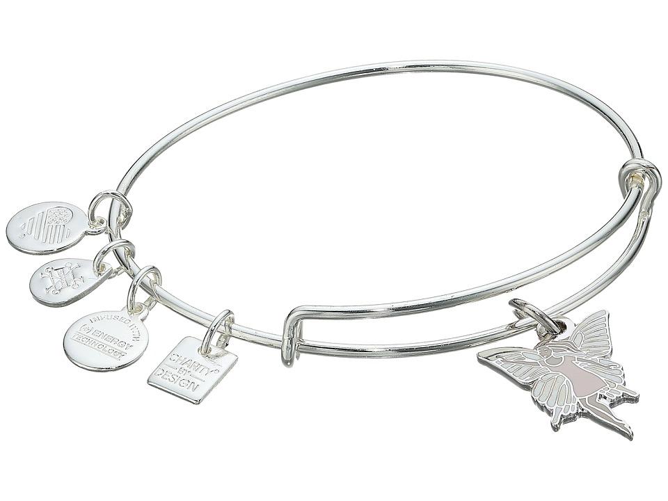 Alex and Ani - Charity By Design - Give Kids the World Village - Fairy Bangle (Shiny Silver) Bracelet