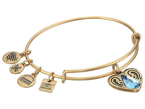 Alex and Ani Charity By Design - Living Water II Bangle - Rafaelian Gold