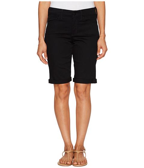 NYDJ Petite Petite Briella Shorts in Black
