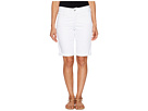 NYDJ Petite - Petite Briella Shorts in Optic White