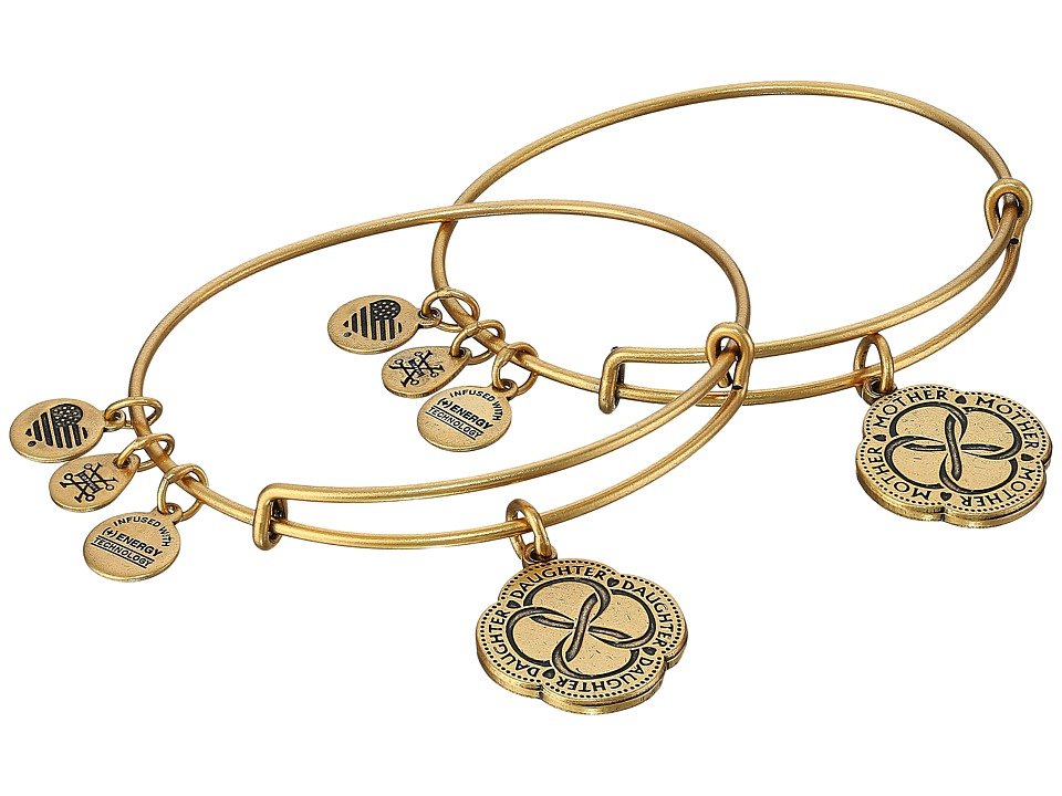 Alex and Ani - Infinite Connection Set (Rafaelian Gold) Jewelry Sets
