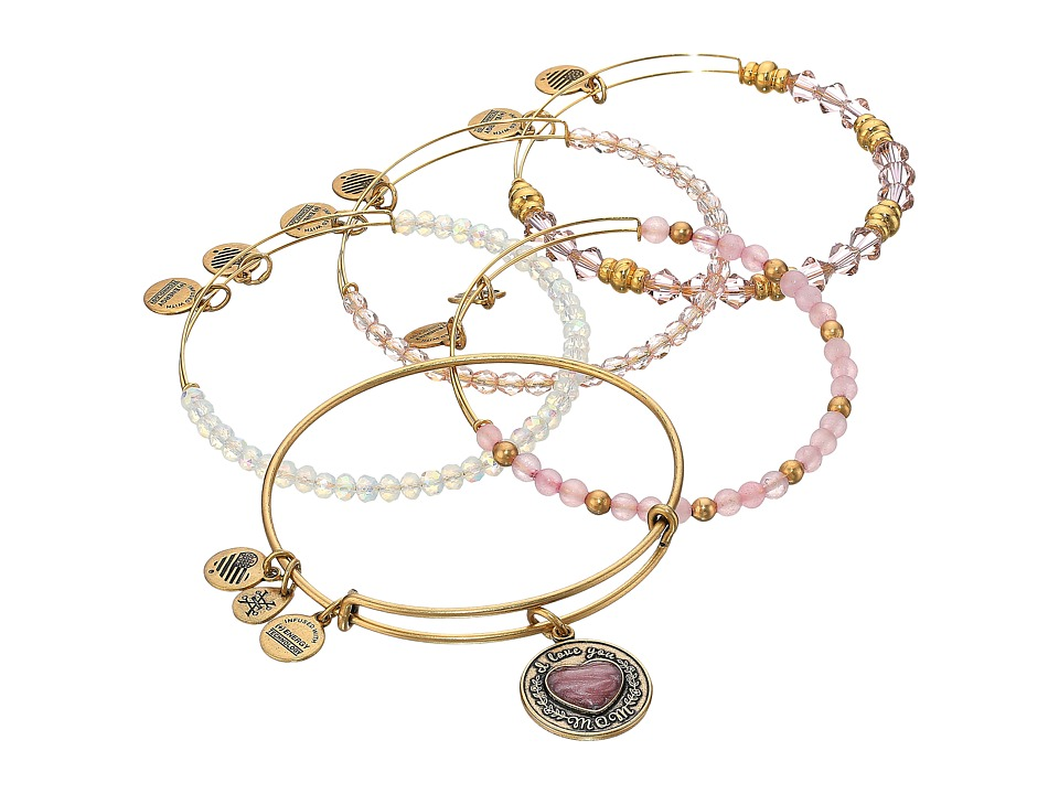 Alex and Ani - I Love You Mom Set