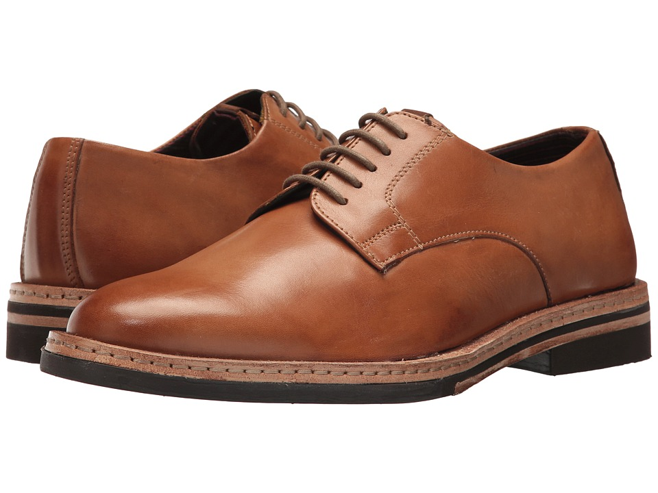 Ben Sherman Julian Plain Toe Oxford (Tan) Men
