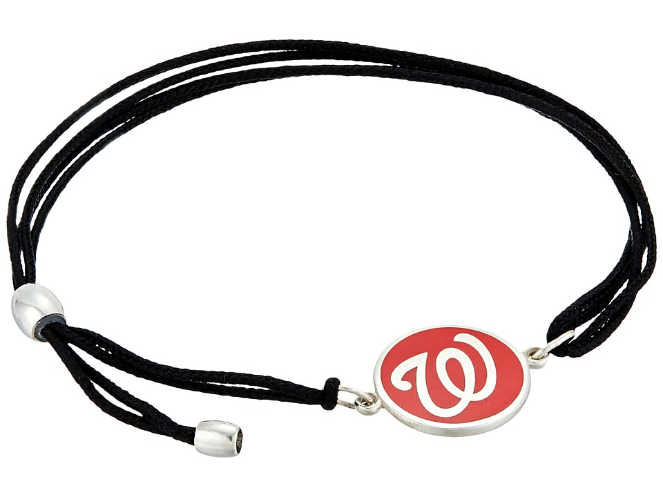 Alex and Ani - Washington Nationals Kindred Cord Bracelet (Sterling Silver) Bracelet