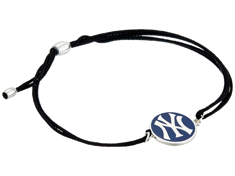 Alex and Ani - New York Yankees Kindred Cord Bracelet (Sterling Silver) Bracelet